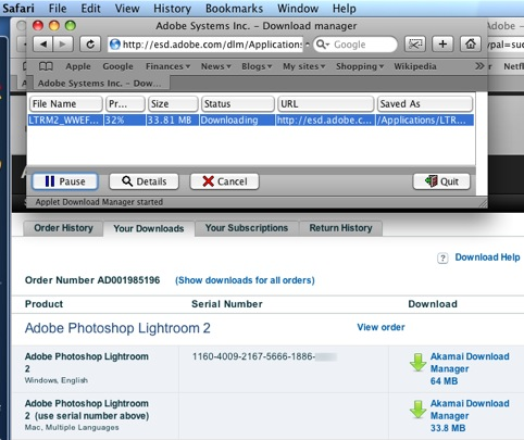 Lightroom 2 Upgrade   Photographs, Photographers and Photography